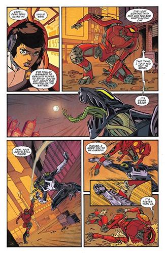 こうして、ペニーは父の意志と一体化しながらロボット姿で悪と戦うことになったのです。