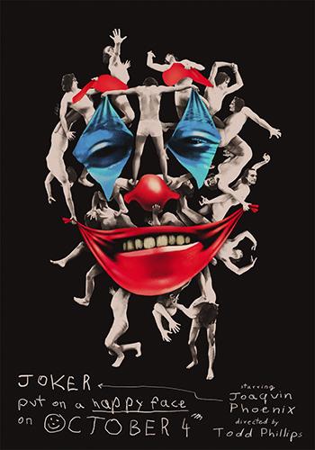 2019年映画『ジョーカー』ポスターが完成!ファンアートも必見!